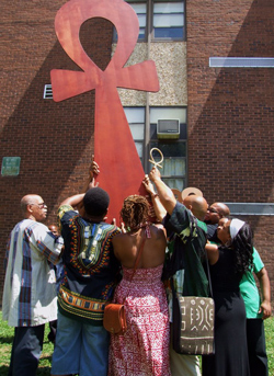 Ankh Raising Ceremony